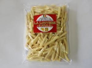 ビンチェ種というデンプン質の多いジャガイモだけを使用した伝統のストレートカットのフライドポテト